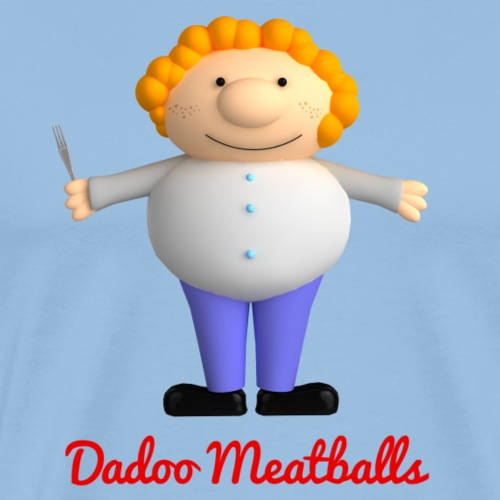 Dadoo Meatballs - T-shirt Premium Homme