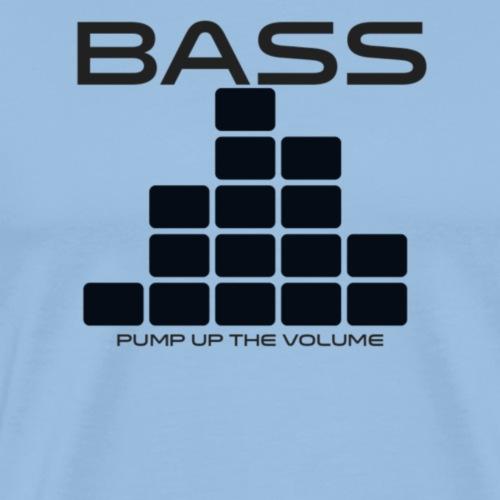 Bass - Mannen Premium T-shirt