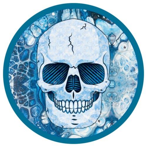 Cool Blue Skull - Men's Premium T-Shirt