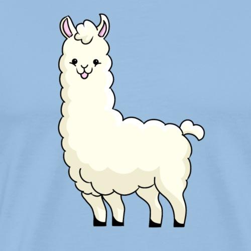 Cute Llama - Men's Premium T-Shirt