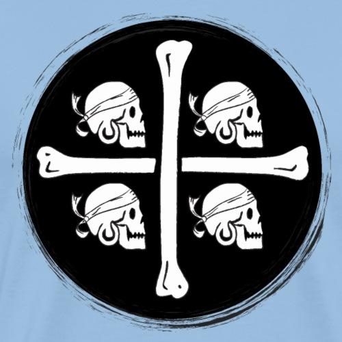 4 Morti - Pirati di Sardegna - Maglietta Premium da uomo