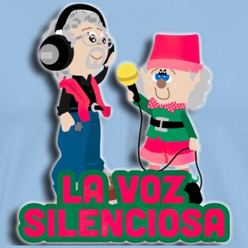La voz silenciosa - Jose y Arpelio - Camiseta premium hombre