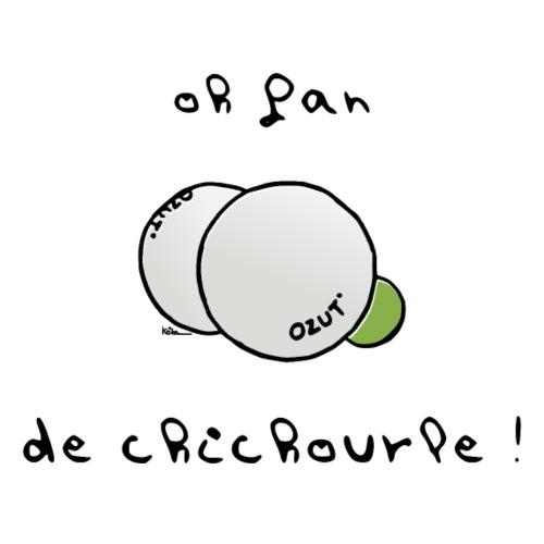 Oh Fan de Chichourle ! - Männer Premium T-Shirt