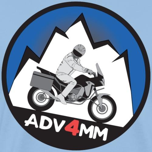 ADV4MM Round - Men's Premium T-Shirt