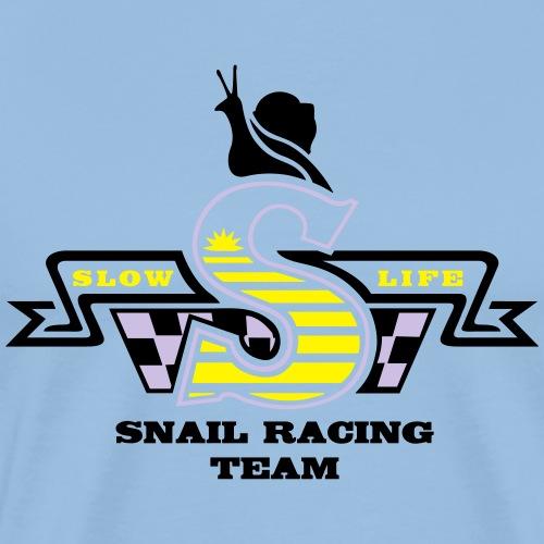 SNAIL SLOW LIFE - T-shirt Premium Homme