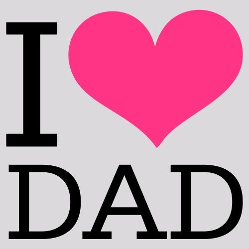 love - liebe - dad - Männer Premium T-Shirt