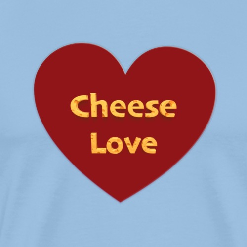 Cheese love - T-shirt Premium Homme