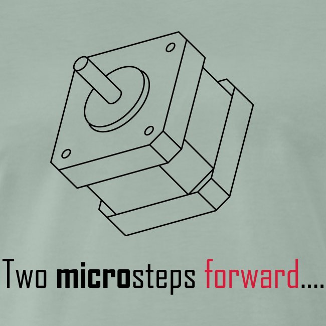 Two microsteps forward....