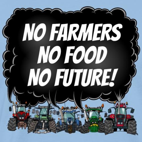 no farmers portrait - Mannen Premium T-shirt