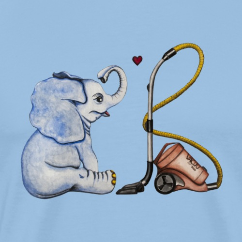 elephant in love - Männer Premium T-Shirt