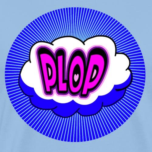 PLOP Comic - Männer Premium T-Shirt