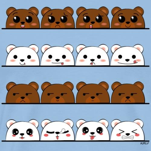 Funny Bears - T-shirt Premium Homme