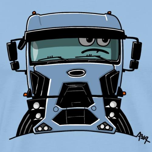 0812 F truck blue - Mannen Premium T-shirt