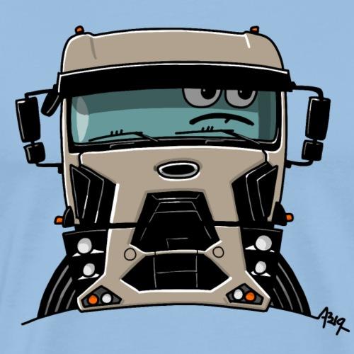 0812 F truck beige - Mannen Premium T-shirt