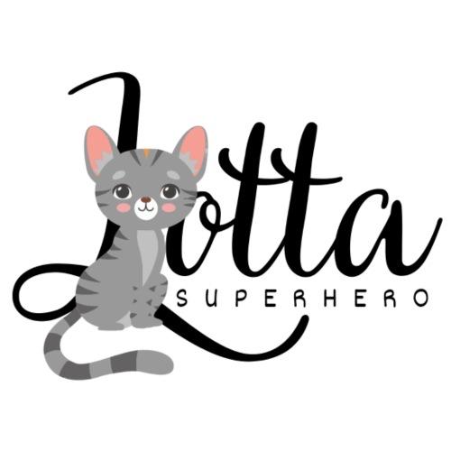 Lotta Superhero - Männer Premium T-Shirt