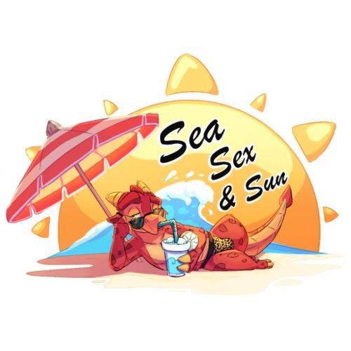 Sea, sex and sun - Men's Premium T-Shirt