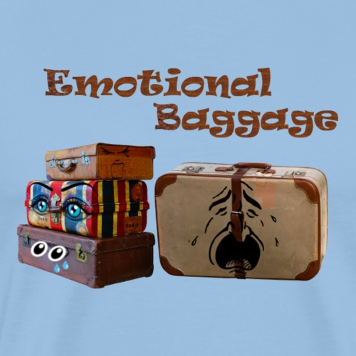 Emotional baggage - Mannen Premium T-shirt