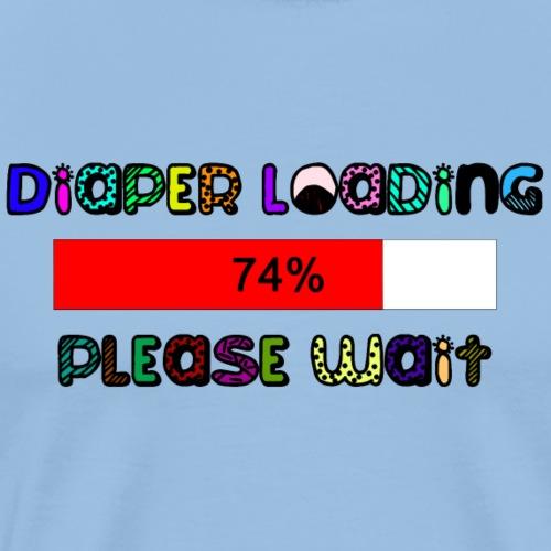 Diaper loading - Men's Premium T-Shirt