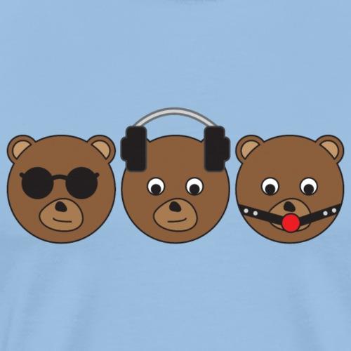 3 Wise Bears - Men's Premium T-Shirt