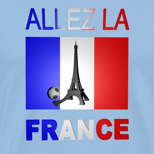 ALLEZ LA FRANCE - T-shirt Premium Homme