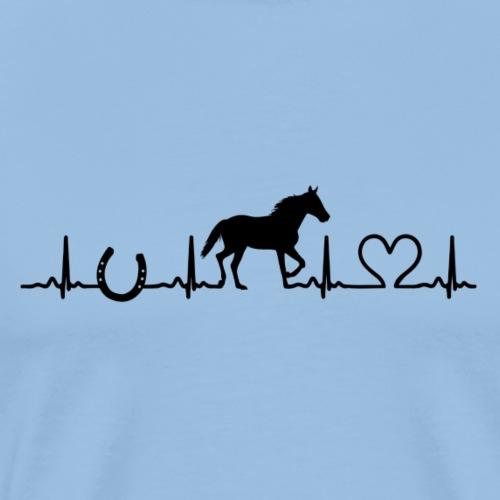 Wir lieben Pferde - Männer Premium T-Shirt