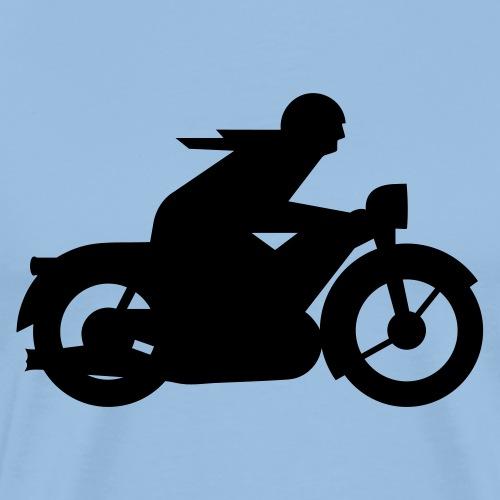 AWO driver silhouette - Men's Premium T-Shirt