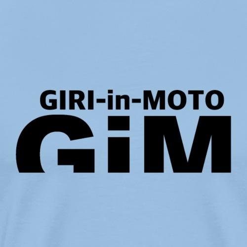 GiM nero - Maglietta Premium da uomo