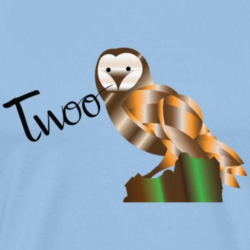 Owl 'Twoo - Men's Premium T-Shirt