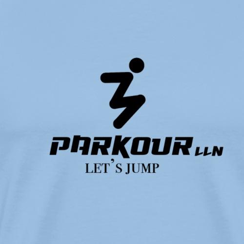 parkour lln let s jump - T-shirt Premium Homme
