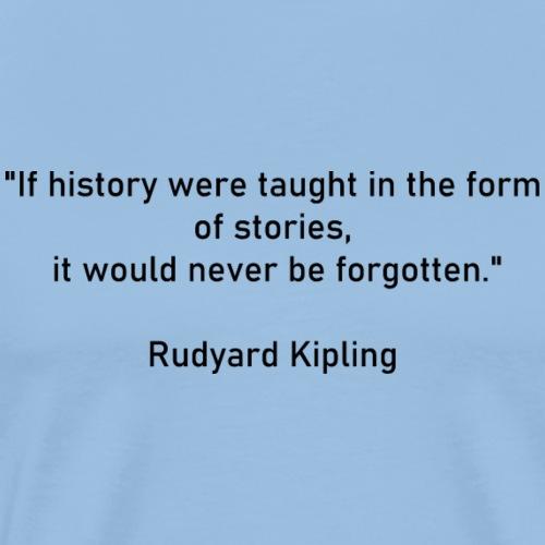 Rudyard Kipling - T-shirt Premium Homme