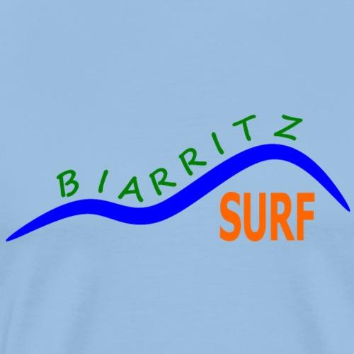 Biarritz Surf - Men's Premium T-Shirt