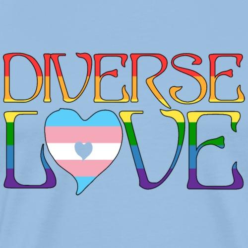 Diverse Love - Camiseta premium hombre