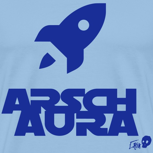 Ass aura - Men's Premium T-Shirt