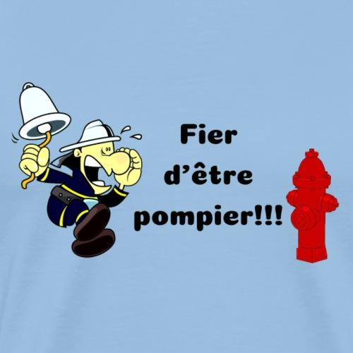 Fier d'être pompier!