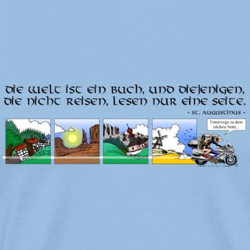 travel DEUTSCH - Mannen Premium T-shirt