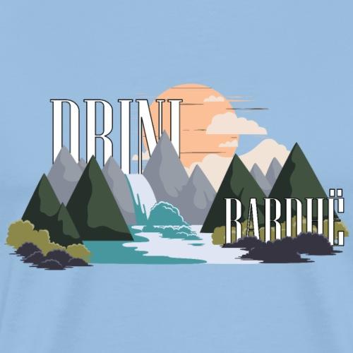 Drini i Bardhë - Männer Premium T-Shirt