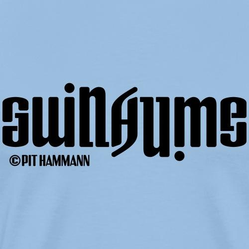 Ambigramm Guillaume 01 Pit Hammann - Männer Premium T-Shirt