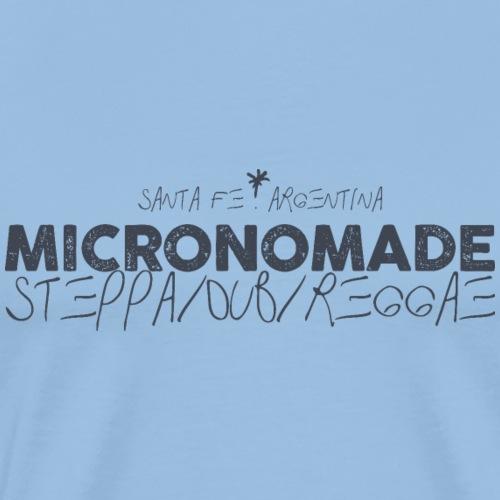 Micronomade steppa sub reggae - Camiseta premium hombre