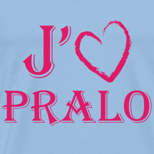 j aime pralo - T-shirt Premium Homme
