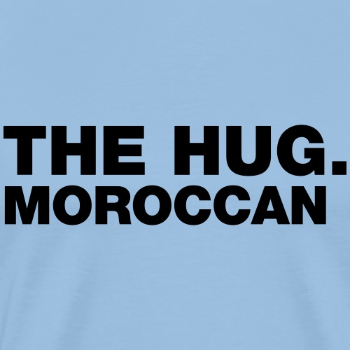 The hug Moroccan - Mannen Premium T-shirt
