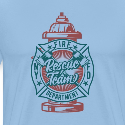 Feuerwehr Hydrant - Männer Premium T-Shirt