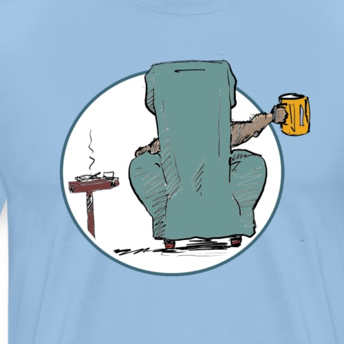 Fuer heute bin ich raus - Männer Premium T-Shirt
