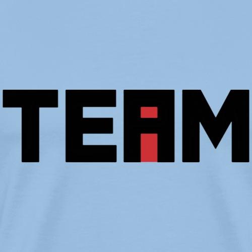 i in team - Premium T-skjorte for menn