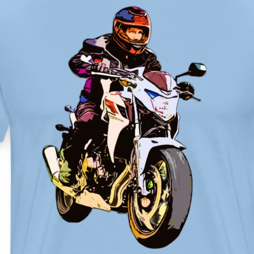 Motorradfahrer Uelzen - Männer Premium T-Shirt