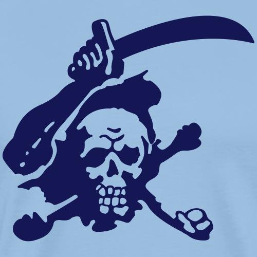 Skull Attack - Men's Premium T-Shirt