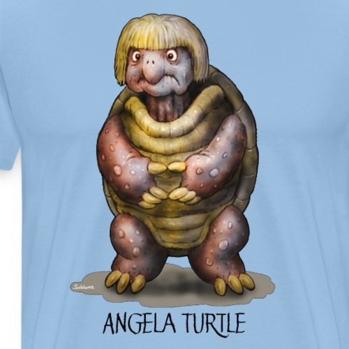 Angela Turtle - Männer Premium T-Shirt