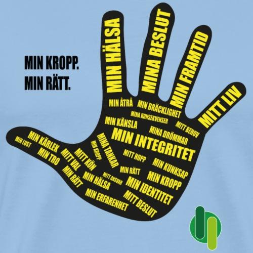 MinKroppMinrätt - Premium-T-shirt herr