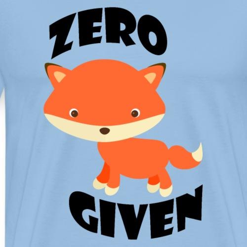 Zero Fox Given - Men's Premium T-Shirt