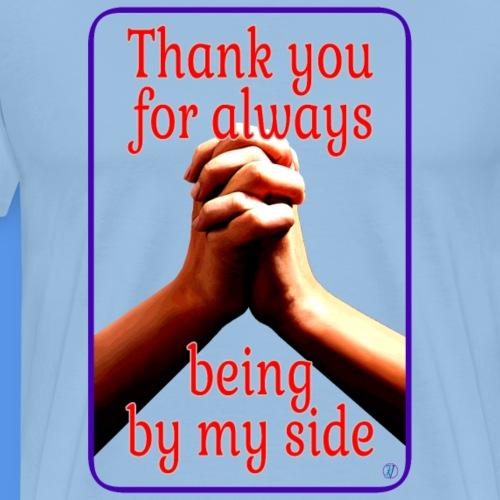 Dziękuję za zawsze jest po mojej stronie.