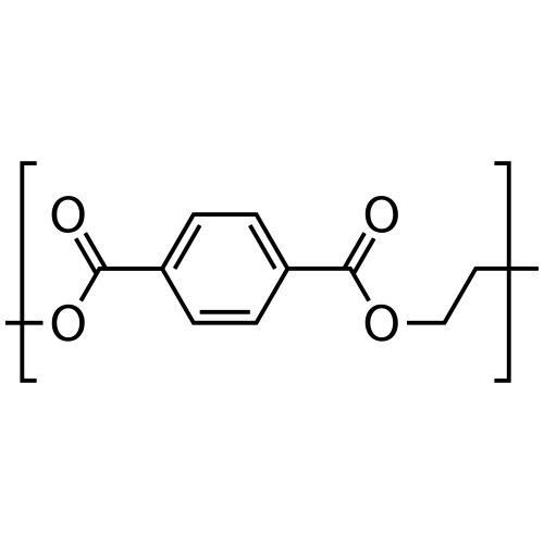 Polyethylene terephthalate (PET) molecule. - Men's Premium T-Shirt